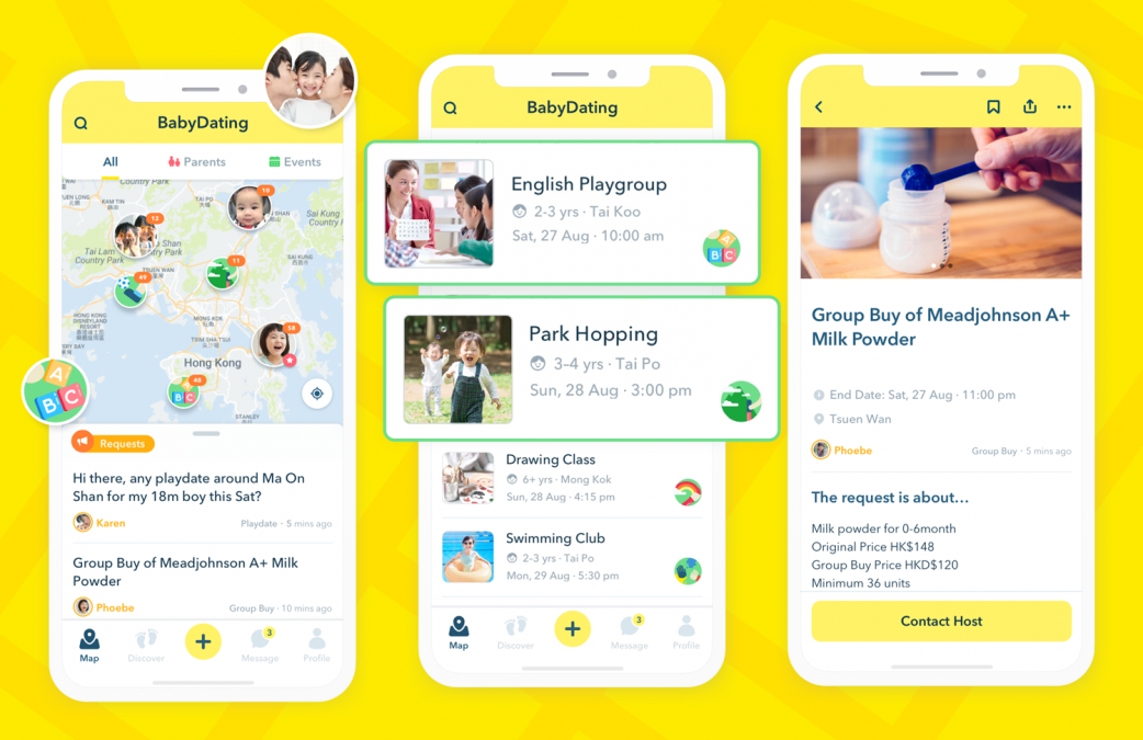 Smiling Baby Limited Announces the Launch of BabyDating App